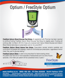 Freestyle Optium Blood Ketone Monitoring System What
