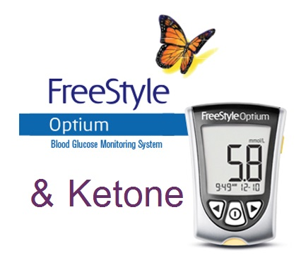 Freestyle Optium Blood Ketone Monitoring System What
