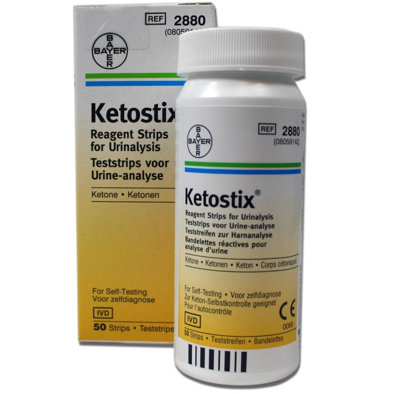 Ketostix Ketone Urine Analysis Test Strips - What Have I Been Doing